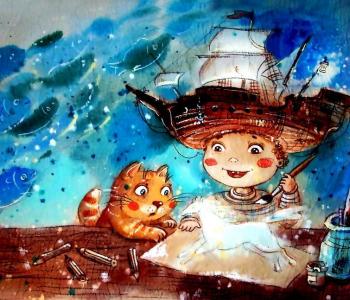 Мастер-классы по съемке акварельных мультфильмов от пермской художницы Анастасии Столбовой